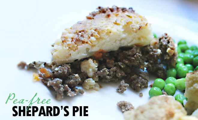 Shepard's pie from Helen Jane makes people grin from their tummies.