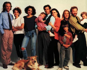 Thirtysomething cast photo. I never saw the show but I was obsessed with the lifestyle.