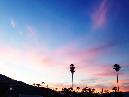 A Palm Springs Sunset